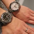 Y様ご夫妻に、結婚10周年記念に時計をお選び頂きました。
